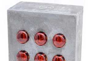 The Nixie Concrete Clock Crushes Competition in the Test of Time
