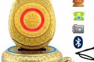 Golden Buddha Mobile Packs Supreme Smartphone Serenity