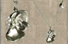 Anatomical Pendants - 'Black Jewls' Organ Necklaces Help Get Your Hearts Pumping