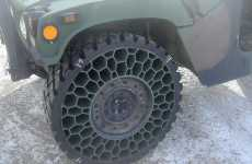 Airless Army Tires - Resilient Technologies Develops Non-Pneumatic Gadgets