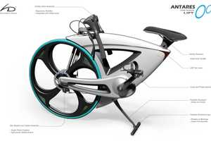 Hideki Kawata Creates Sea Snail-Inspired Folding Bike