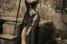 Tightlacing Editorials - 'Precious Time' in Vogue Italia is Crazy for Corsets