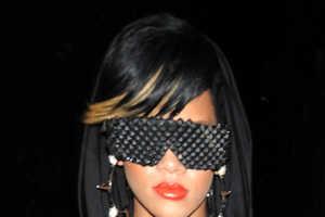Rihanna Rocks Her Barracuda Shades (Again) to Fashion's Night Out Fete