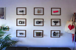 Framed Objects are Intriguing Credit Crunch Wall Decorations