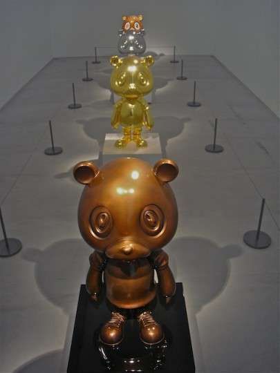 Cloned Kanye Cubs - Takashi Murakami and Kanye West Collaborate in New Exhibition