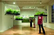 Hanging Greenhouses - Vaughn Bell's Exhibit Puts Eco in Your Face