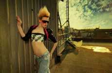 Armageddon Style - Nick IDM Turns to the Apocalypse for Fashiontography Inspiration