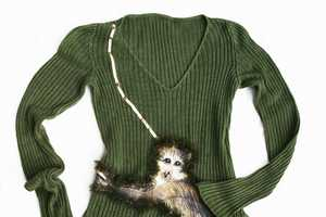 Attiladesign's Cheeky Applique Top Lets You Hug a Primate