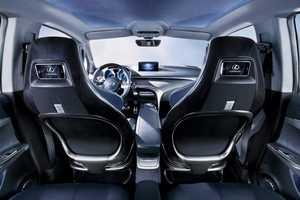 Lexus LF-Ch Premium Hybrid Blends Tech & Eco-Friendly Design