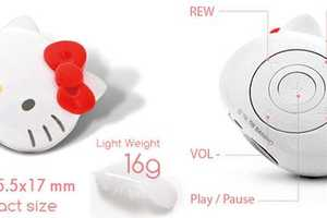 Make Listening Cute With the Mini Hello Kitty Music Player