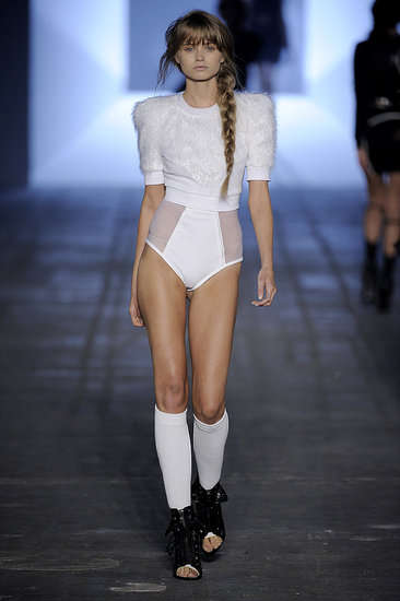 Football-Inspired Fashion - Alexander Wang's Sporty Approach to Spring