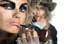 Animated Fashiontography - Vogue Italia Brings Pirates from September 2009 Editorial to Life