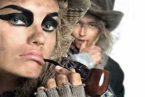 Vogue Italia Brings Pirates from September 2009 Editorial to Life