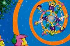 Retro Cartoon Exhibitions