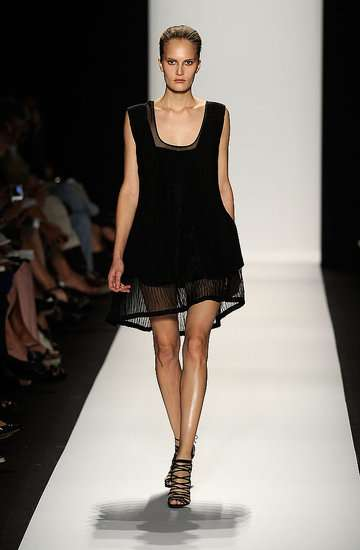 Skin Flashing Fashions - Narciso Rodriguez's Sheath, Shift, Spring 2010 Attire
