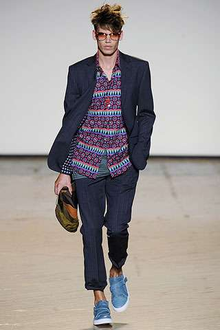 80s-Inspired Menswear - Marc by Marc Jacobs Spring 2010 Collection Turns Back the Clock
