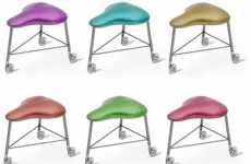Tricycle Seating - Arik Ben Simhon's Sports-Inspired Bici Stool