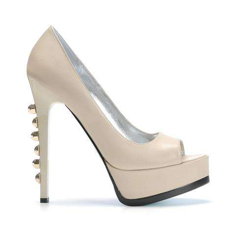 Bolted Heel Pumps