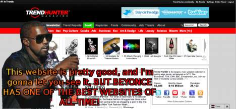 Kanye-Fied Websites - Disrespect Any Site With the Help of the Kanye West Function