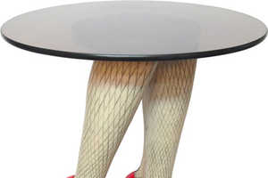 The Sexy Table Revolutionizes the Term 'Table Legs'