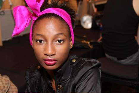 Giant Neon Hair Bows - Marc by Marc SS 2010 Collection Was Totally 80s