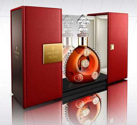 Baroque Liquor Bottles - Louis XIII Cognac Gets an All-New Luxe Look