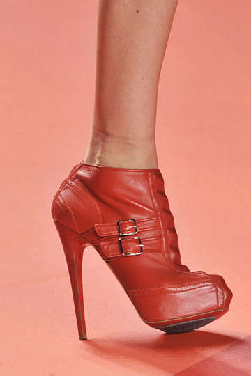 Sky-High Scarlet Heels