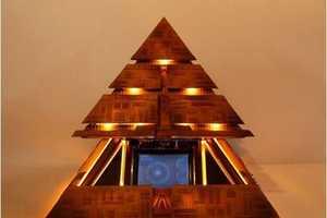 Die-Hard Fan Recreates Motorized Pyramid 'Stargate' Spacecraft