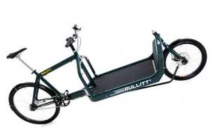 Conveniently Transport Large Loads on the Bullit Cargo-Bike