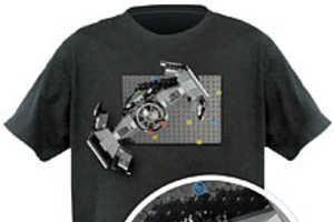 Display Your Latest Creations on the 'Brick Construction Shirt'