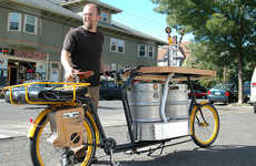 All-In-One Partycycles - The Beer Bike Brings Everything You Need for a Good Party