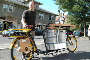 The Beer Bike Brings Everything You Need for a Good Party