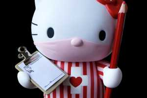 The Dr. Romanelli Hello Kitty Dolls Could Work in a Hospital