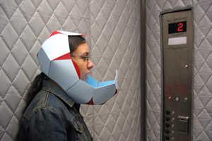 Jessica Frelinghuysen Designs Helmet for Telling Secrets