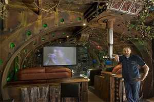 Ship Builder Dean Johnstone Creates Subaquatic Home Theatre Theme