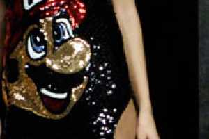 Sparkly Mario Eveningwear is a 1Up Mushroom Fashion Collection