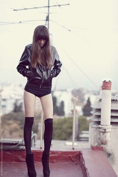 Bootie-licious Fashion Spreads - Antonella Arismendi Highlights Go-Go Boots & Skintight Fashion