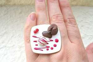 Kawaii Cute Japanese Ring Makes You Want to Bite Your Fingers