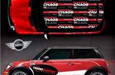 Customizable Cooper Car Wraps - 5,000,000 DIY Design Dreams Made Real by MINI Motoring Graphics