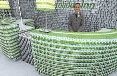 Hotels Made of Cards - Holiday Inn Showcases Promo Hotel Made Out of Old Room Keys