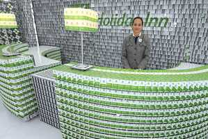 Holiday Inn Showcases Promo Hotel Made Out of Old Room Keys