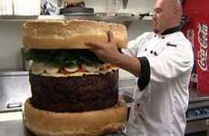 185-Pound Burgers - World's Largest Hamburger is Gluttony Incarnate
