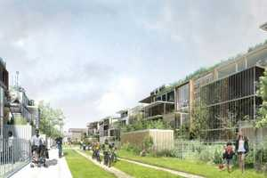 EXP Architects' 'Heudelet 26' Will Add Green to Dijon, France