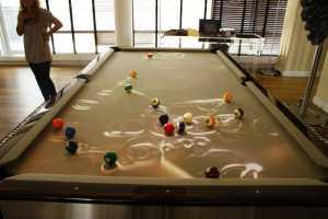 The Obscura CueLight Brightens Up Billiard Ball Fun