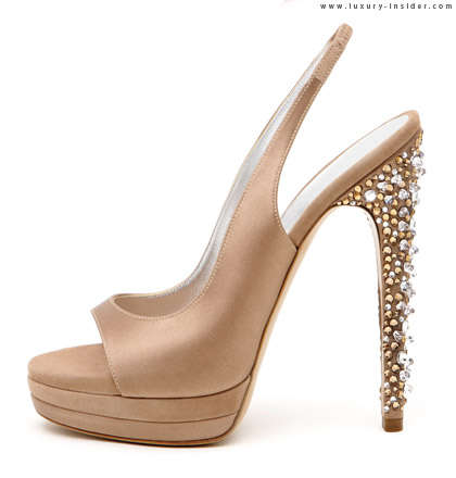 Swarovskified Heels - The Casadei Fall 2009 Collection is Glittery and Glamorous