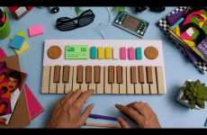Edible Keyboard Ads - Musical Stop Motion Ads From do bem Promote Acai Juice