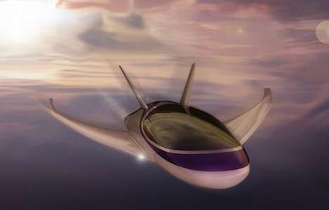 'Fifth Element' Inspired Taxis - SKY TAXI Concept Soars Into Future of Transportation