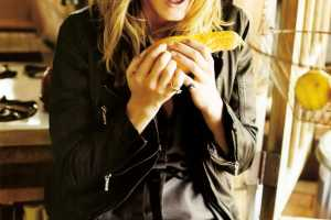 Angela Lindvall Gets Happy for October's Elle Italia