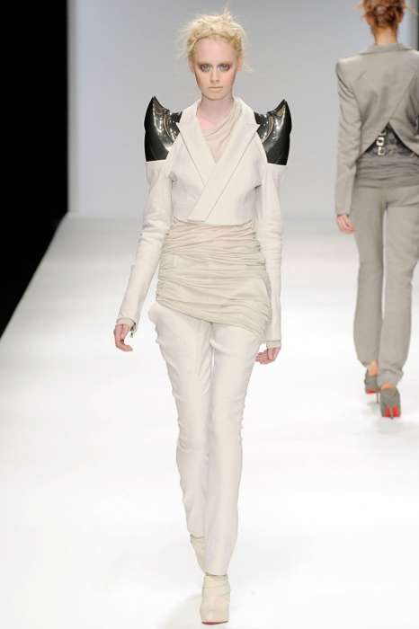 Trekkie Couture - Style Stolen Straight from Star Trek for Todd Lynns Spring 2010