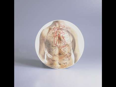 Anatomical Place Settings - Bizarre Tea Sets from 'Anitomica' Will Shock Your Grandma